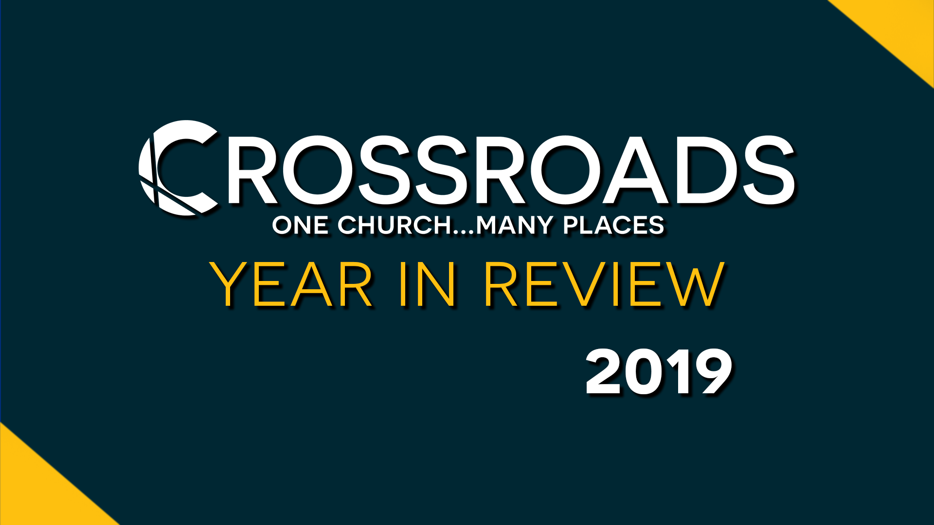 Sermon Series 2020 Year In Review